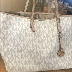 Michael Kors Large Logo Shoulder Bag
